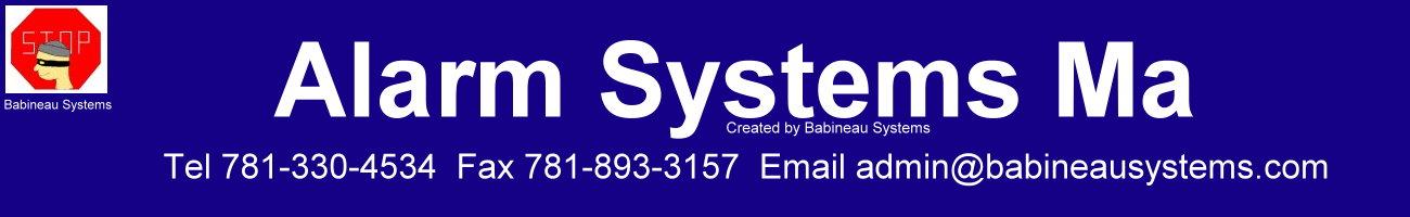 Alarm Systems Ma