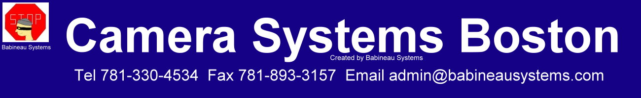 Camera Systems Boston