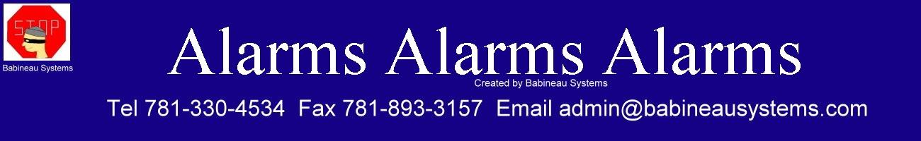 Alarms Alarms Alarms