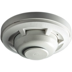Fixed and rate of rise heat detector