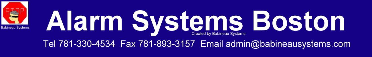 Alarm Systems Boston